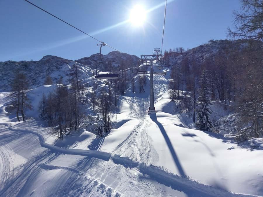 Vogel Slovenia Lke Bled Winter Skiing Activities