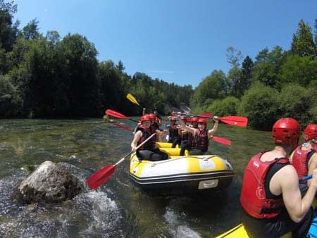Rafting Caynoning Bled Activities Slovenia