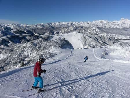 Lake Bled Slovenia Skiing Winter Activities