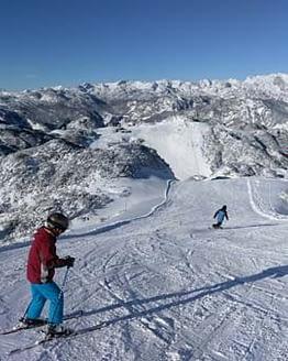 Slovenia Skiing Bled Lake Activities
